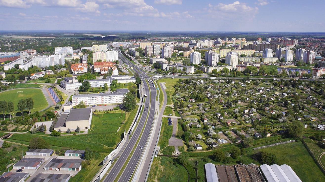 Infrastruktura drogowa Lubin