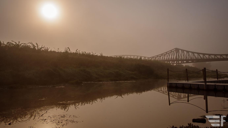 Odra, most w Ścinawie